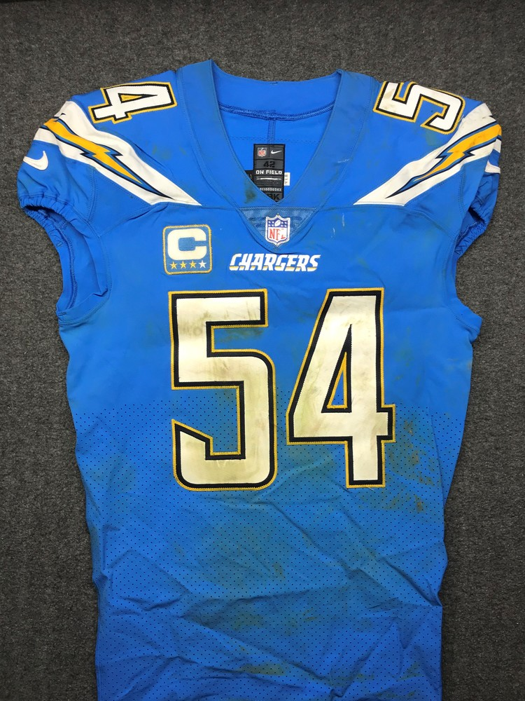 California Wildfire Relief - Chargers Melvin Ingram III Game Worn Jersey (10/21/18)