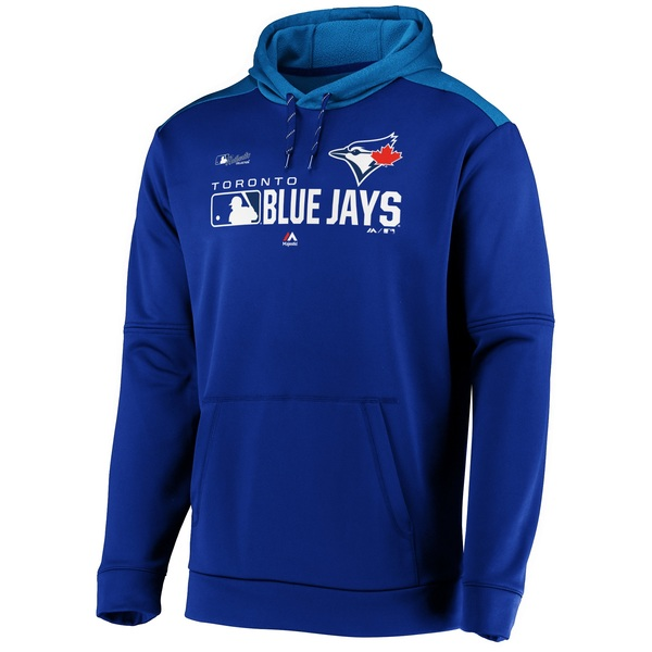 Toronto Blue Jays Authentic Collection Players Hoodie Royal