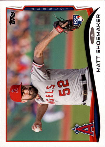 Photo of 2014 Topps Update #US268 Matt Shoemaker RC