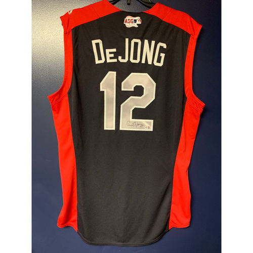 Photo of Paul DeJong 2019 Major League Baseball Workout Day Autographed Jersey