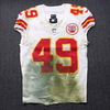 NFL - Chiefs Daniel Sorensen Signed Game Used Jersey Size 38 (11/19/18)