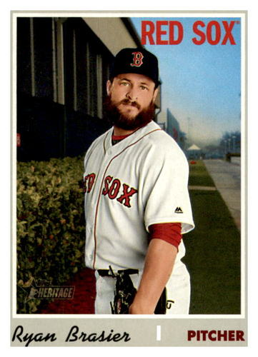 Photo of 2019 Topps Heritage #694 Ryan Brasier