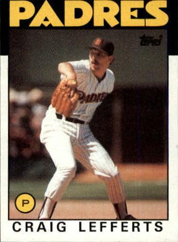 Photo of 1986 Topps #244 Craig Lefferts