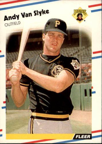 Photo of 1988 Fleer #341 Andy Van Slyke