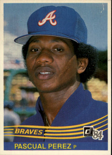 Photo of 1984 Donruss #507 Pascual Perez