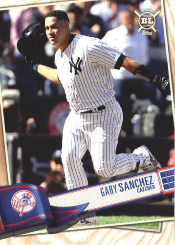 Photo of 2019 Topps Big League #224 Gary Sanchez