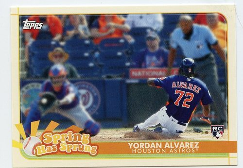 Photo of 2020 Topps Opening Day Spring Has Sprung #SHS23 Yordan Alvarez