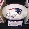 Patriots - Ryan Allen Signed Panel Ball w/ Patriots Logo