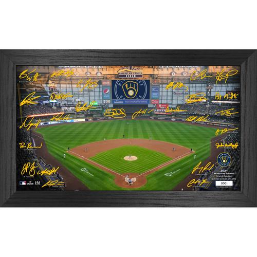 Photo of Milwaukee Brewers 2021 Signature Field Photo Frame