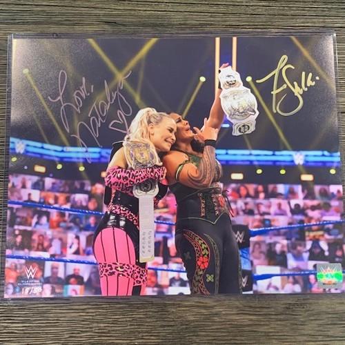 Natalya and Tamina SIGNED 11x14 Photo(Random Number)