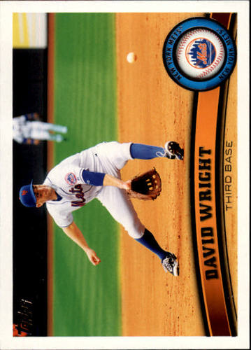 Photo of 2011 Topps #15 David Wright