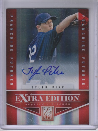 Photo of 2012 Elite Extra Edition Franchise Futures Signatures #43 Tyler Pike/799