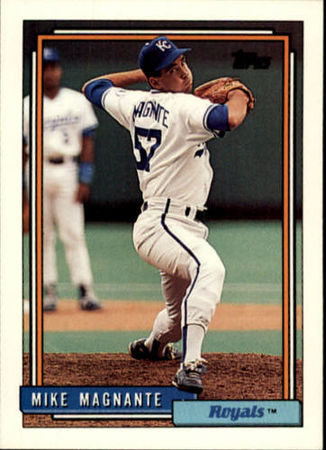 Photo of 1992 Topps #597 Mike Magnante RC