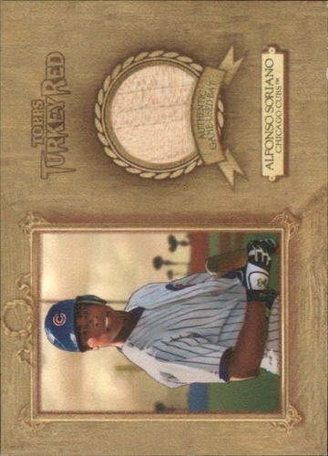Photo of 2007 Topps Turkey Red Relics #AS Alfonso Soriano Bat C
