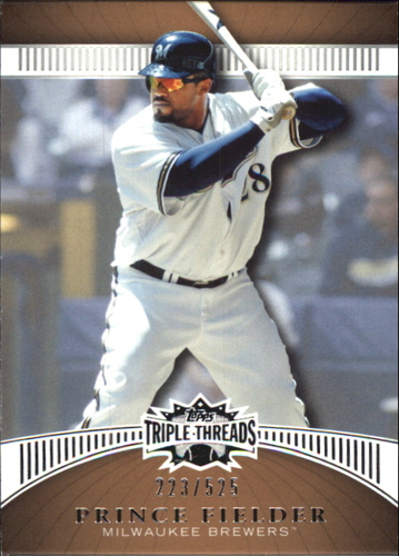 Photo of 2010 Topps Triple Threads Sepia #45 Prince Fielder