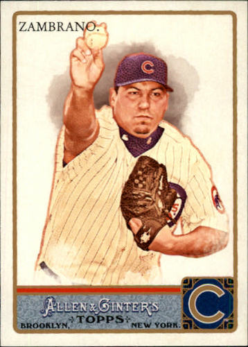 Photo of 2011 Topps Allen and Ginter #143 Carlos Zambrano
