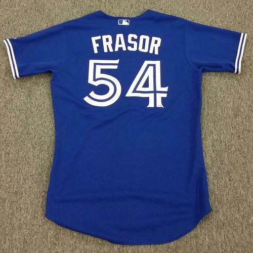 sports shoes 37f47 d852d MLB Auctions | Authenticated Game-Used #54 Jason Frasor 2012 ...