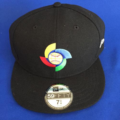 UMPS CARE AUCTION: 2017 World Baseball Classic Logoed Cap Size 7 3/4