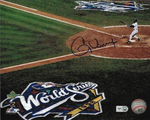 Photo of Greg Vaughn Autographed 8x10