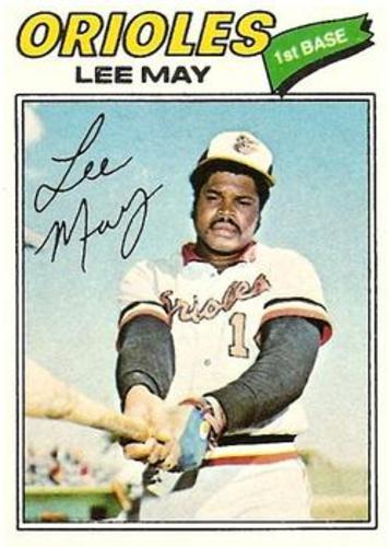 Photo of 1977 Topps #380 Lee May