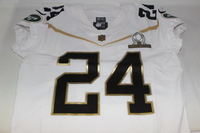 NFL - JETS DARRELLE REVIS 2016 TEAM RICE GAME ISSUED PRO BOWL JERSEY - SIZE 44