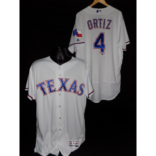 Photo of Hector Ortiz Game-Used Home Jersey - Size 46