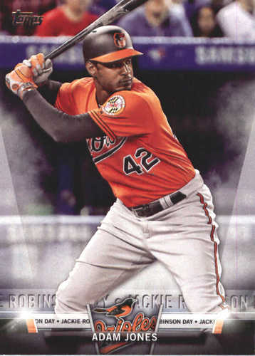 Photo of 2018 Topps Salute #TS5 Adam Jones