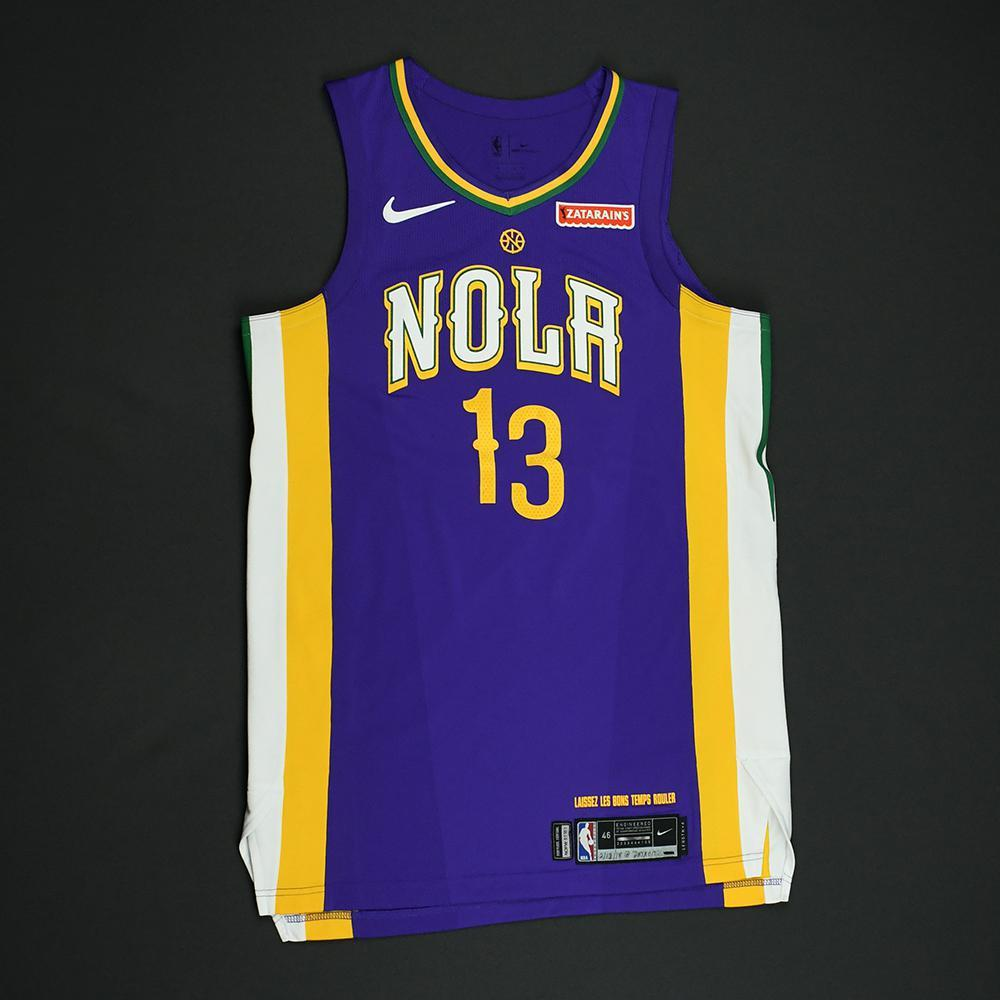 Cheick Diallo - New Orleans Pelicans - Game-Worn 'City' Jersey - 2017-18 Season
