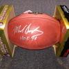 HOF - Bears Mike Singletary signed authentic football