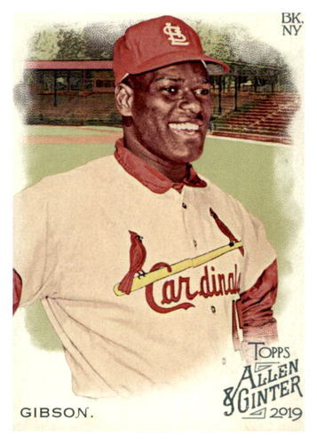 Photo of 2019 Topps Allen and Ginter #281 Bob Gibson