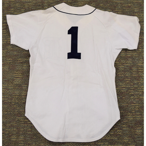 Photo of Lou Whitaker #1 Detroit Tigers Batting Practice Jersey (NOT MLB AUTHENTICATED)