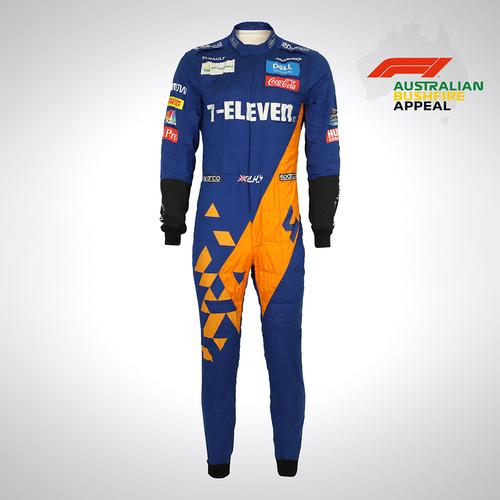 Photo of Lando Norris 2019 Race Suit - Australian Grand Prix