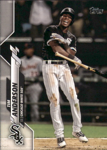 Photo of 2020 Topps #28 Tim Anderson
