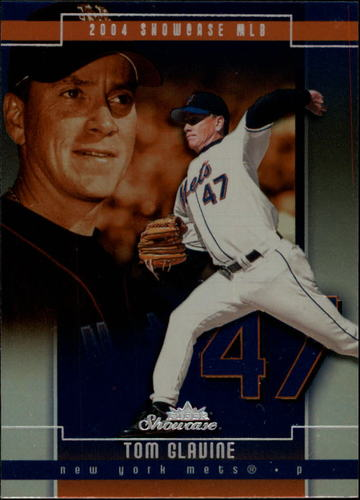 Photo of 2004 Fleer Showcase #92 Tom Glavine