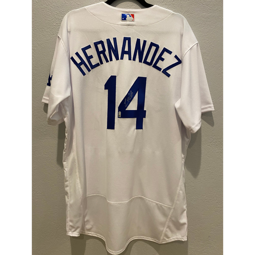 Photo of Enrique Hernandez Authentic Autographed Los Angeles Dodgers Jersey