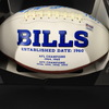 Bills - Multi Signed Panel Ball w/ 20 signatures including Josh Allen, Ed Oliver, John Brown, Tremaine Edmunds, and more!