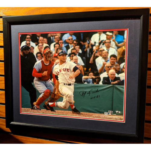 Photo of Carl Yastrzemski Autographed Framed Photo