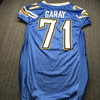 Chargers - Antonio Garay Game Used Jersey Size 50