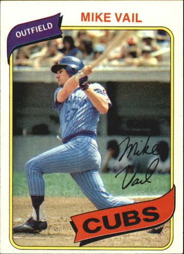 Photo of 1980 Topps #343 Mike Vail
