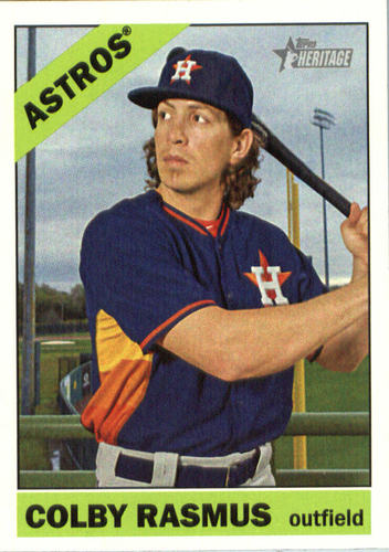 Photo of 2015 Topps Heritage #517 Colby Rasmus