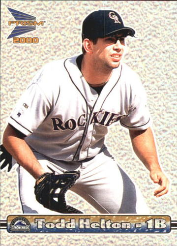 Photo of 2000 Pacific Prism Pebbly Dots #49 Todd Helton *
