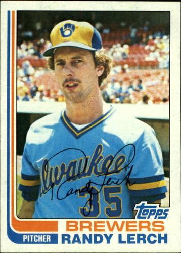 Photo of 1982 Topps #466 Randy Lerch