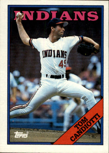 Photo of 1988 Topps #123 Tom Candiotti