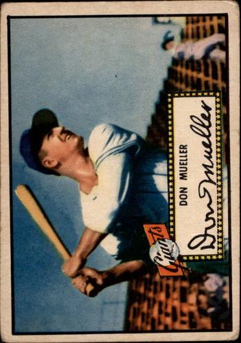 Photo of 1952 Topps #52 Don Mueller