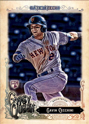 Photo of 2017 Topps Gypsy Queen #97 Gavin Cecchini Rookie Card