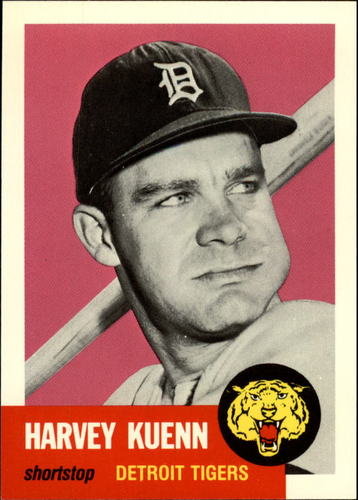 Photo of 1991 Topps Archives 1953 #301 Harvey Kuenn