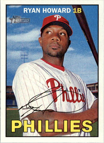 Photo of 2016 Topps Heritage #290 Ryan Howard