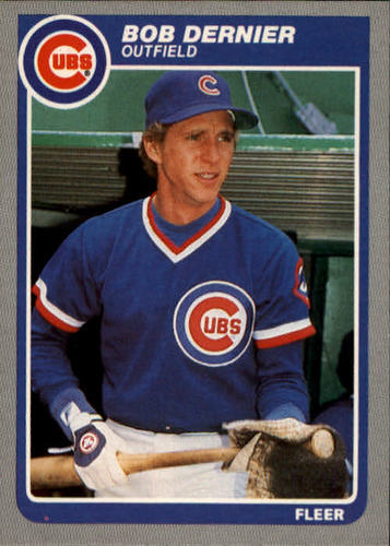 Photo of 1985 Fleer #55 Bob Dernier