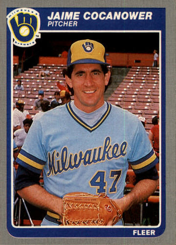 Photo of 1985 Fleer #579 Jaime Cocanower