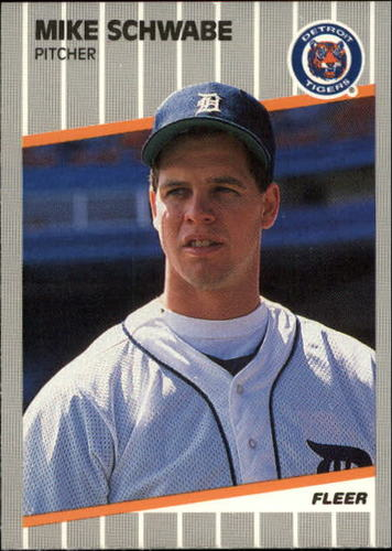 Photo of 1989 Fleer Update #32 Mike Schwabe